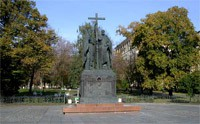 Monument to Saints Cyril and Methodius