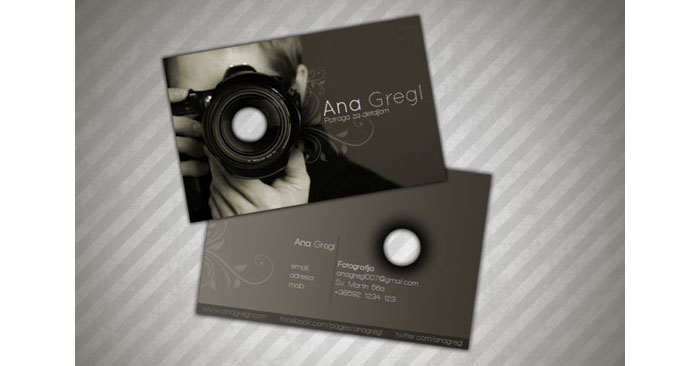 42578388685 Creative Photography Business Cards - 31 Examples