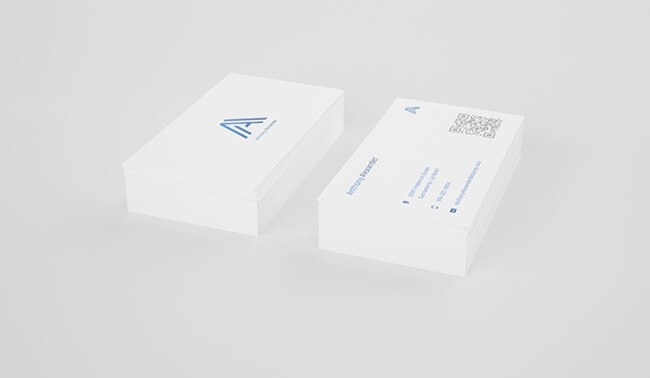 Anthony Alexander photography business card