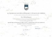 Диплом о прохождении обучения по программам международного бакалавриата